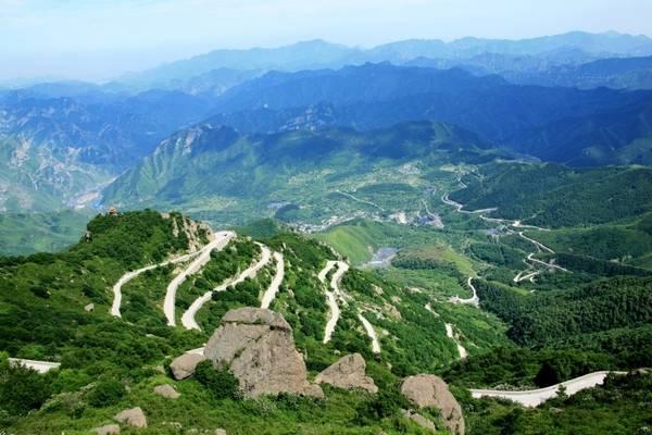 房山世界地质公园百花山风景区